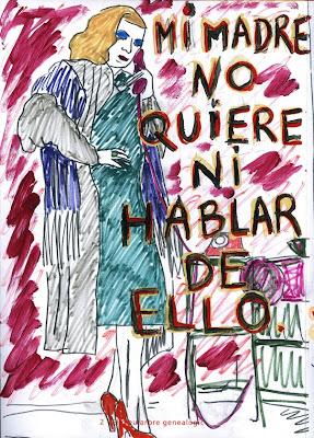"Árbol Genealógico, ""Biografía dibujada"", Agustí Garcia, Bad Painting, Pinturas, Agustí Garcia Monfort,"