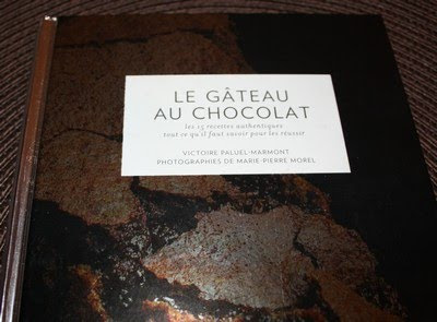 Un livre consacré au gâteau au chocolat