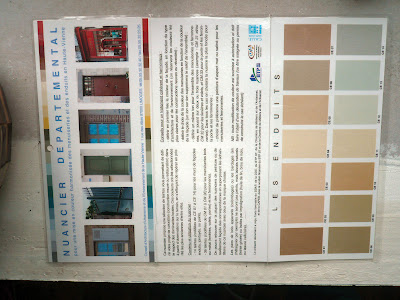 Paint Colours on In The Colour Chart For Future Reference  Should I Ever Want To Paint