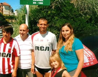 El Chino Benitez en la Pretemporada de Carilo