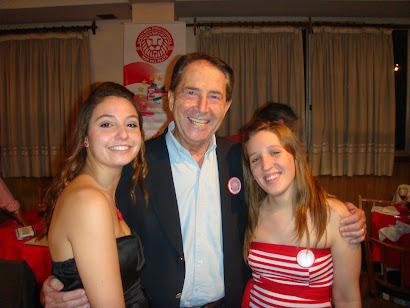Lucia, Raúl Correbo y Daniela