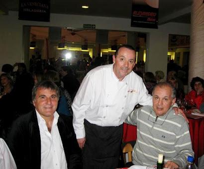 Claudio Gugnali, José Melero y Alejandro Sabella