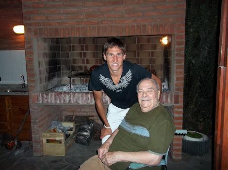 Fede con Juan Carlos Valenti