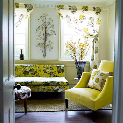 Site Blogspot  Living Room Flooring on Mustard Florals And Dark Wood Furniture And Matching Flooring Create