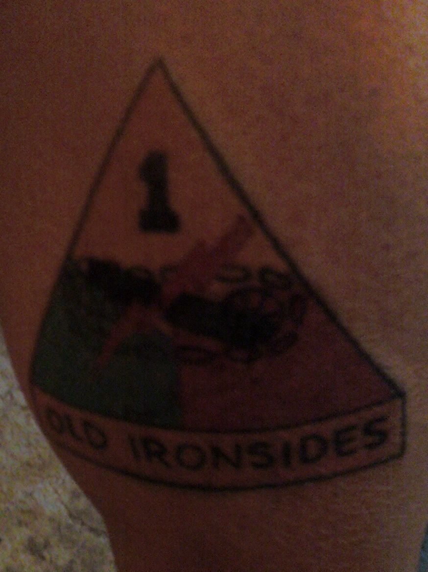 1st Armored Division Patch i Got The 1st Armored Division