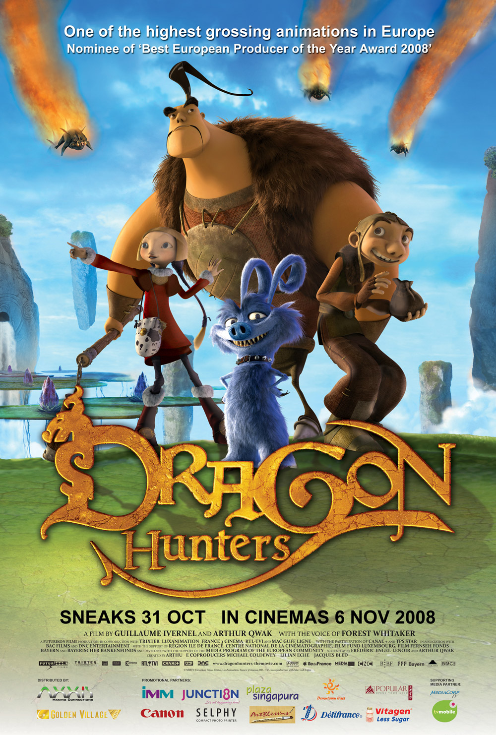 Dragon hunter 2008 movie