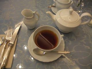 五感北浜本館の紅茶