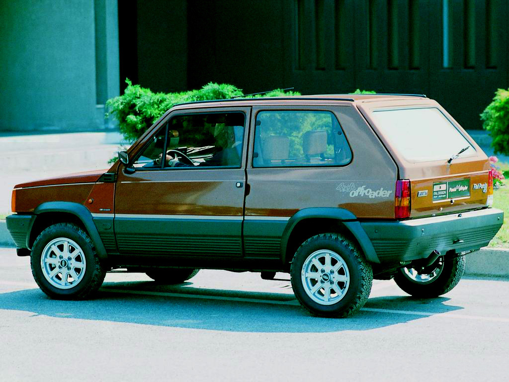 The humble Fiat Panda 4x4.