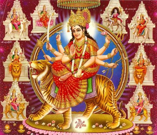 Free Wallpapers: Devi Navaratri Celebrations Special