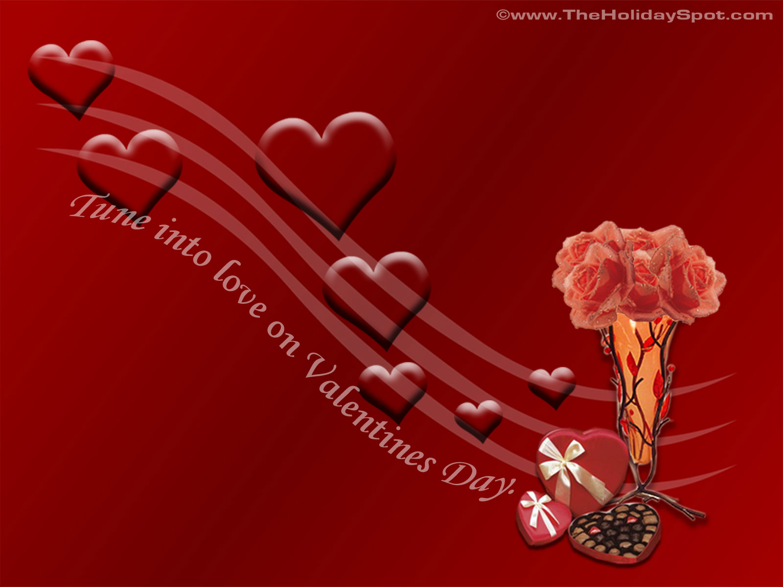 free wallpapers: valentine's day special 3d greetings and animation