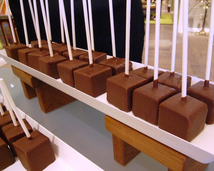Chocolate Covered Cheesecake Pop - Rustica, Newport Beach