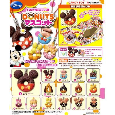 Re-Ment Disney Mister Donut Mascot