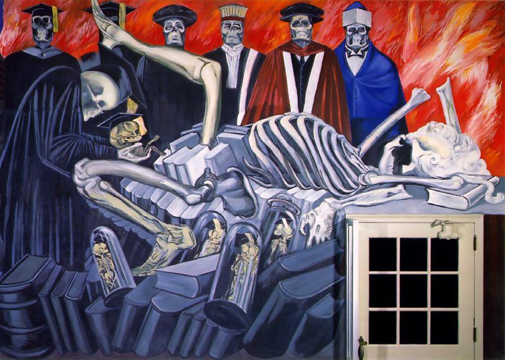 To infinity and beyond april 2010 for El hombre de fuego mural de jose clemente orozco