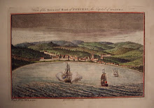 'View of the Town and Road of Fonchal, the Capital of Madera'