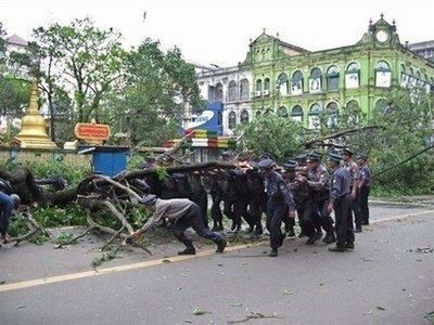 Yangon, Corner of Maha Bandoola Rd & Pensodan Rd