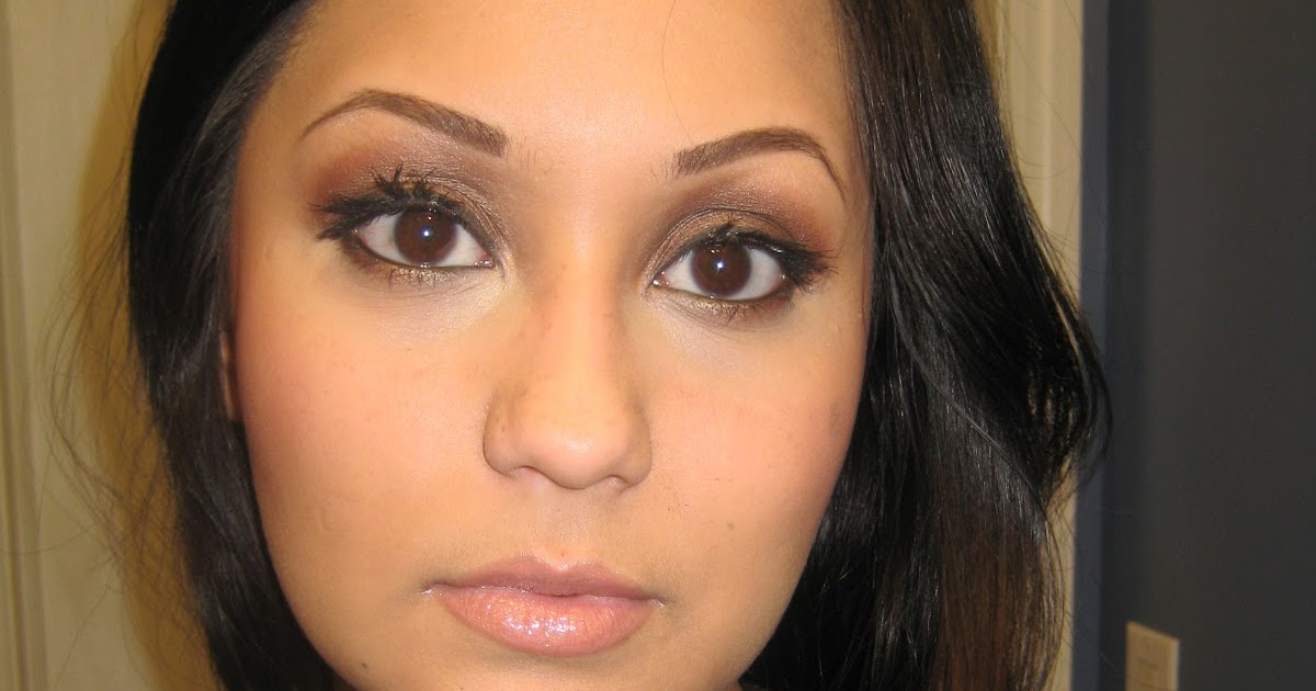 makeup with gabriela makeup tutorial  brown smokey eye