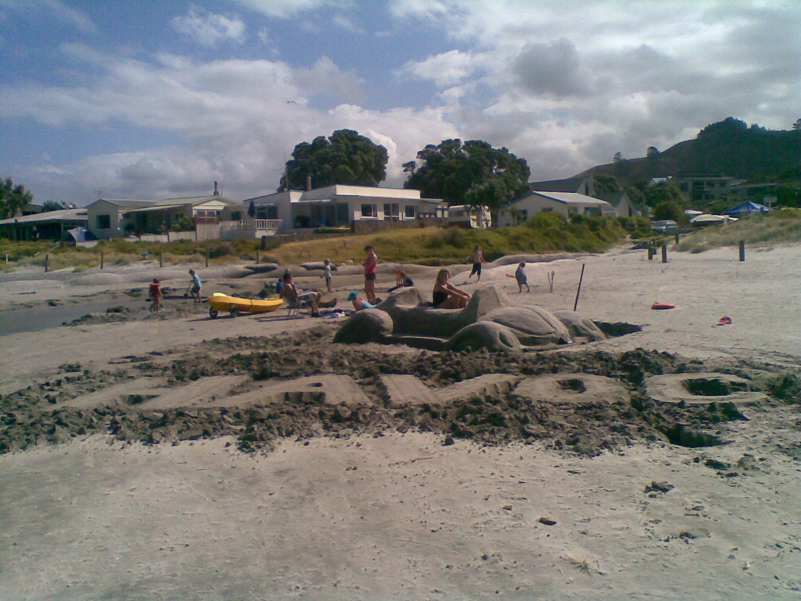 [havoc+made+of+sand+waihi+beach]