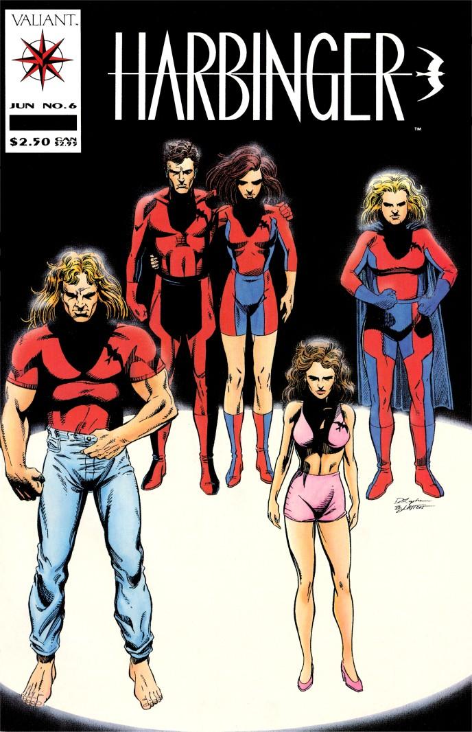 Les comics que vous lisez en ce moment - Page 2 Harbinger+6+cover