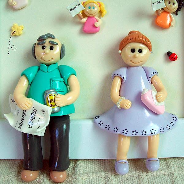 Quadrinho Vovô e Vovó