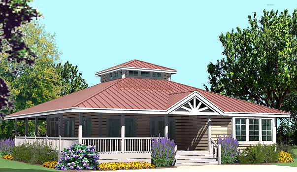 Southern cottages house plans new renderings check them for Cottage style roof design