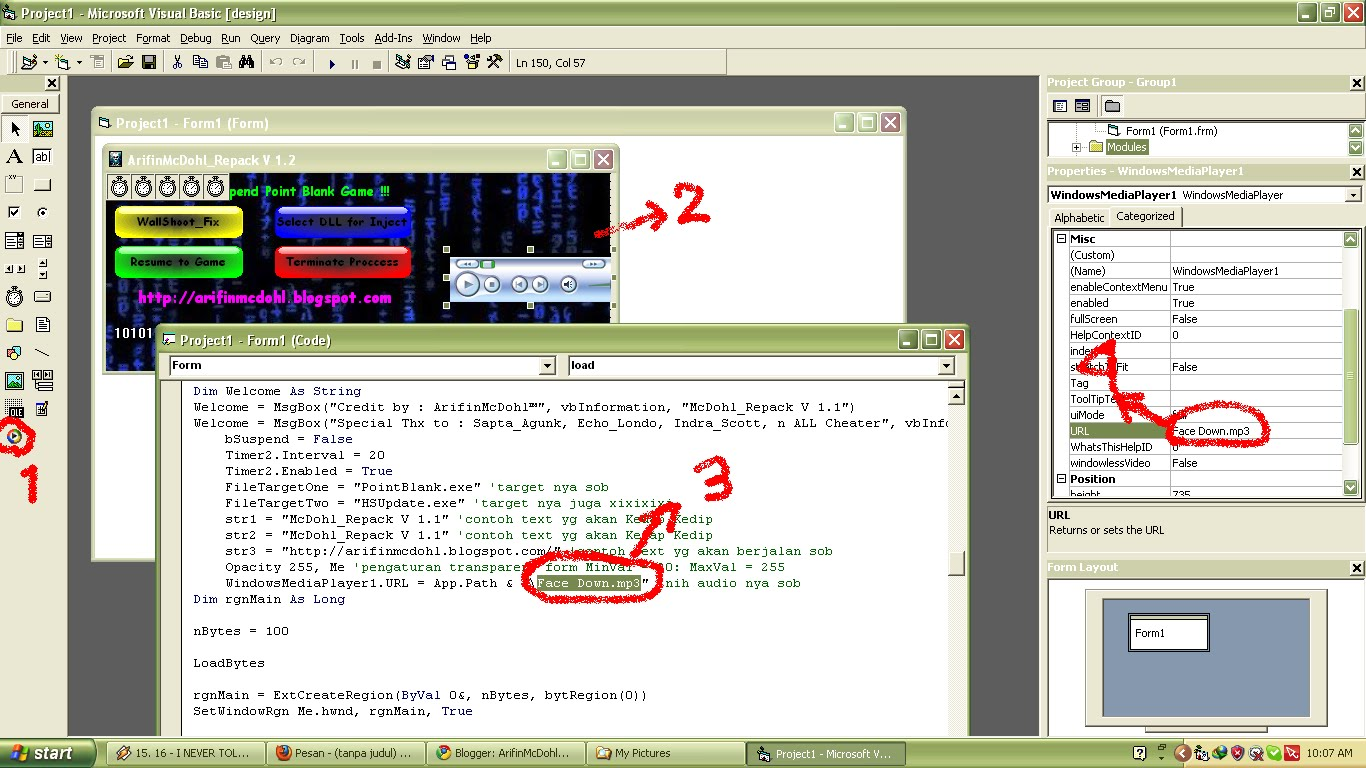 Tutorial Membuat Multi Injector Point Blank With Picture. Afa