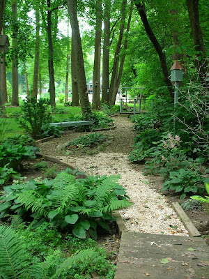 Garden Ideas For Wooded Areas Architecture Decorating