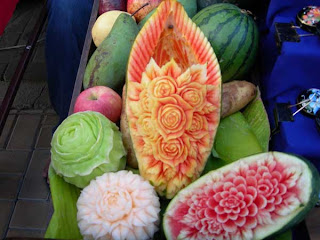 interesting stories fruits and vegetables carving how to