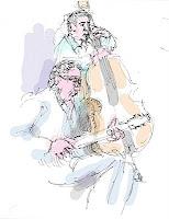 goernet ritter jazz drawing zeichnung wolfgang glechner
