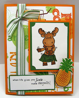 Hanna Stamps- Sophie the moose