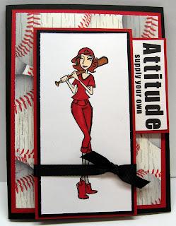 Hanna Stamps baseball Hanna