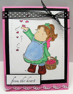 Magnolia Stamps Matilda
