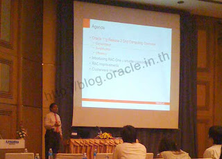 Mr.Ravi present Oracle 11gR2 in-depth