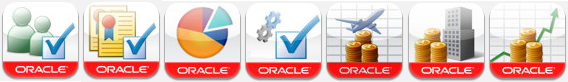 Oracle Apps ใน iPhone