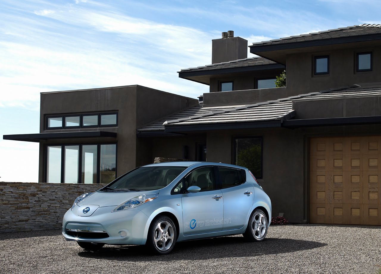 Nissan renault chooses axa for ev assistance in europe