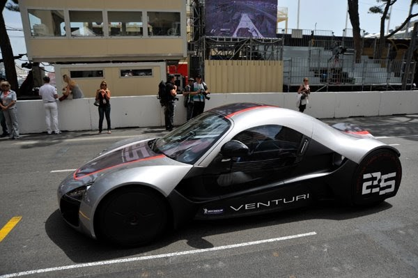 First Public Demonstration For The Venturi Volage With Michelin