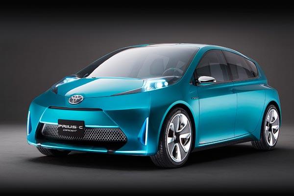Toyota Prius Concept. New Toyota Prius C Concept
