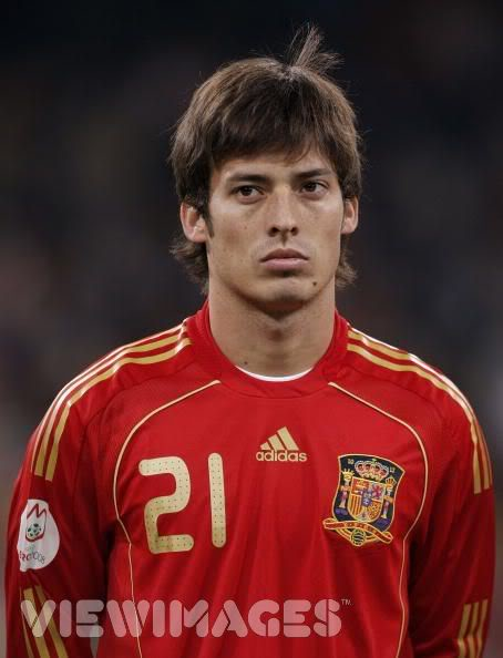 david silva national team spain