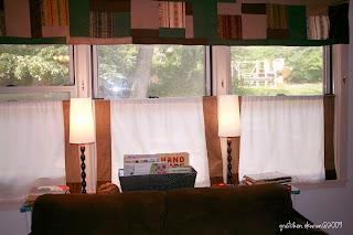 cocktailmom living room cafe curtains