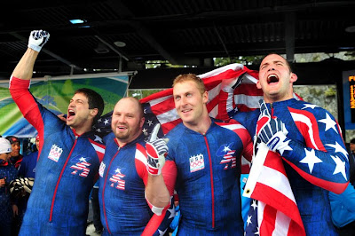 USA Olympic Bobsled Team 2014