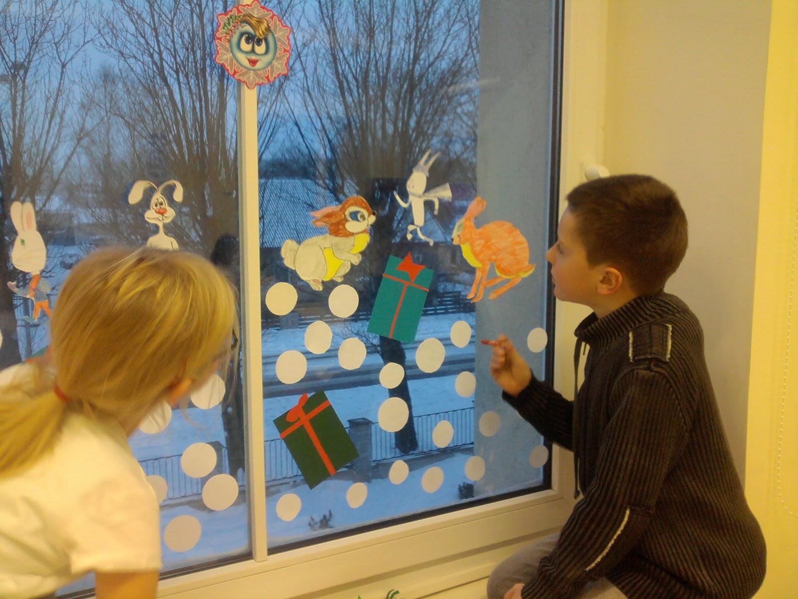 Украсить класс на новый год 2015 своими руками фото