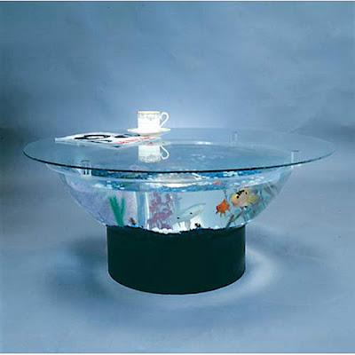 Crimes against furniture for Aquarium cocktail table