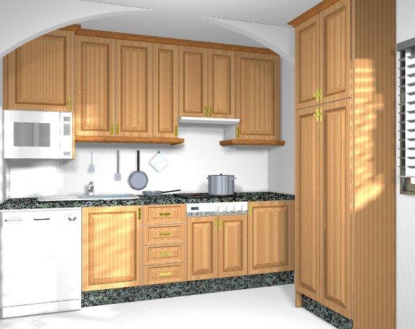 Cocinas integrales for Modelos de cocinas de madera
