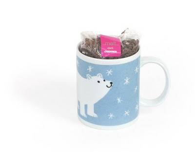 Polar Bear mug with Hot Chocolate