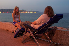 Medelhavskväll i Saint Tropez.