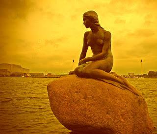 La Triste Sirenita de Copenhague