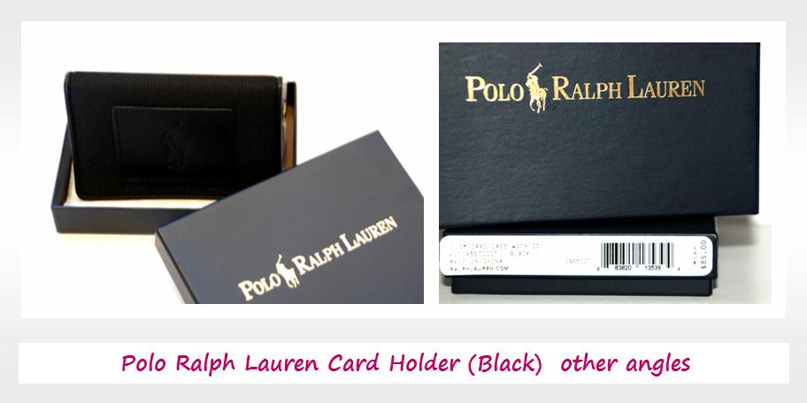 The bag society classic polo ralph lauren card holder now you can issue your business card with style elegance and class reheart Images