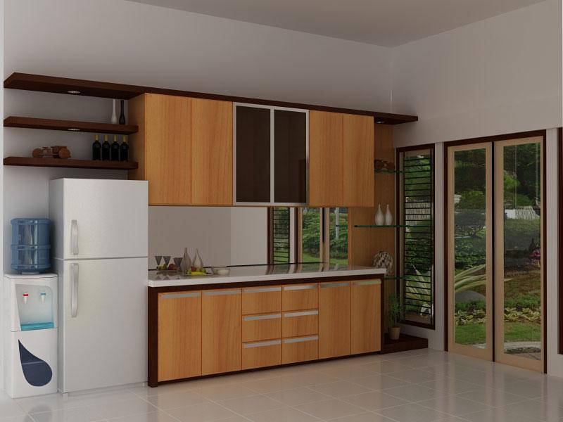 model pantry minimalis