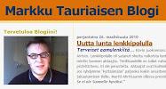 Markku Tauriainen Blogi2