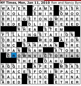 Rex parker does the nyt crossword puzzle beturbaned seer for Century plant crossword clue