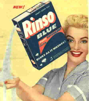 rinso was the brand name of a laundry soap most commonly used in the